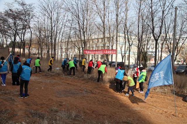 辛寨子街道:党建联合体吹响爱国卫生运动冲锋号