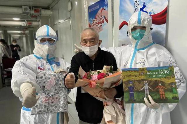 90岁王爷爷:大连医疗队员的爱让我战胜新冠肺炎,走出雷神山
