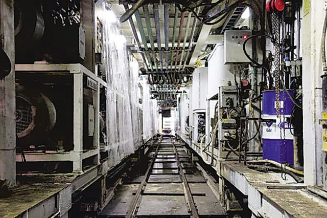 地铁5号线山中区间实现双洞贯通