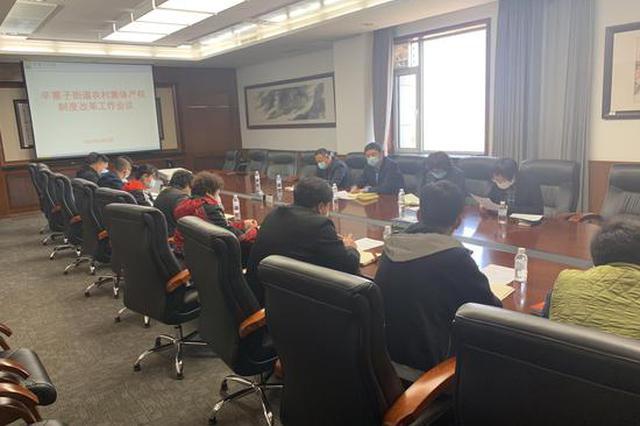 辛寨子街道召开农村集体产权制度改革工作会议