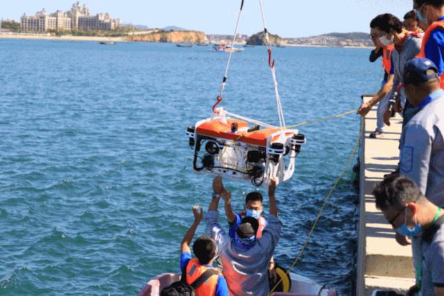 2020年全国水下机器人大赛(大连)暨人工智能与水下机器人高峰