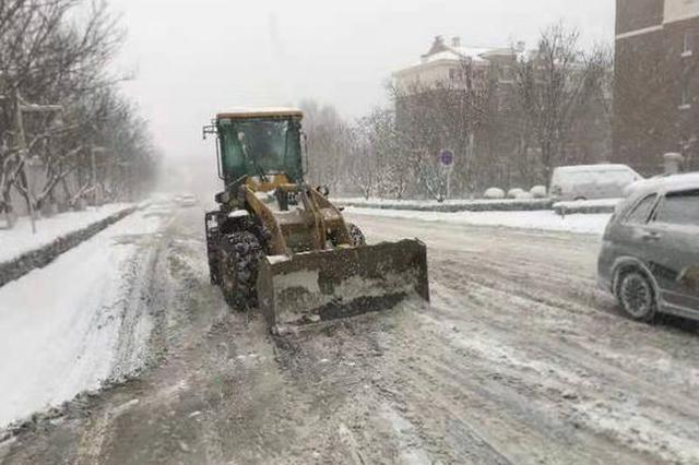 辛寨子街道全力组织除雪保障辖区交通畅通
