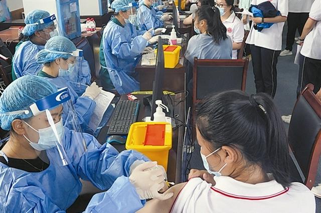 长海县15岁-17岁人群新冠疫苗第一剂次接种工作全面启动