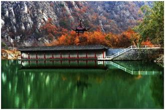 庄河山海湖自然资源丰富。