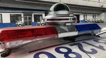 视频记录设备车上岗抓拍交通违法行为