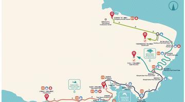 大连国际徒步大会线路公布