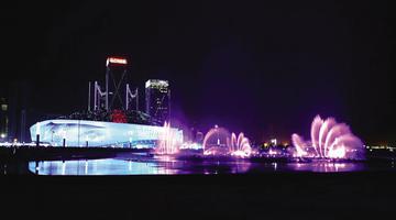 东港音乐喷泉,明年见!