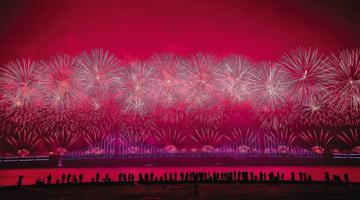 元宵节音乐烟花晚会于2月8日举行