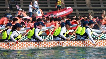 大连第三届海上运动会即将盛装启幕