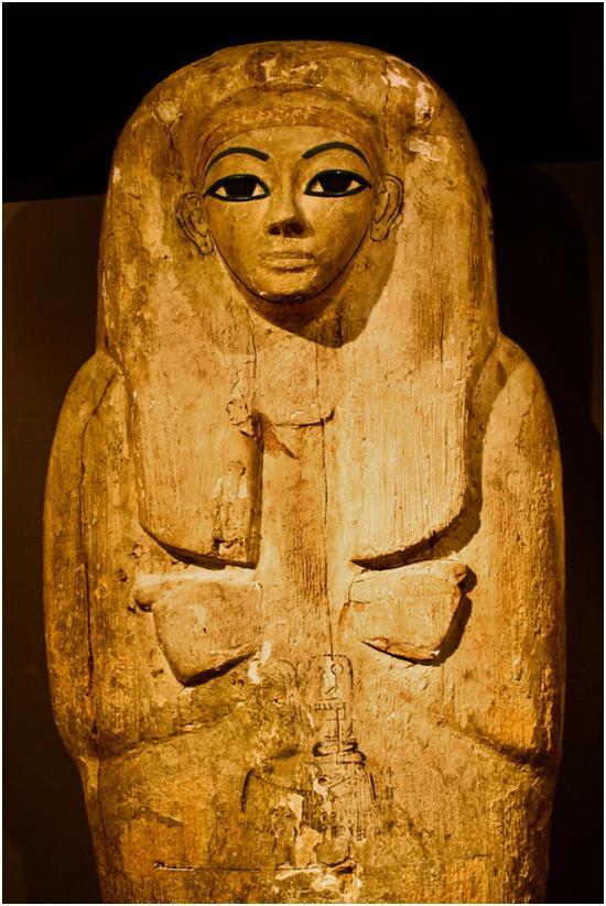 埃及文物。摄影:曲松(中国)