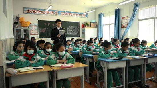 大连海事大学研究生支教团彭博:我愿把青春献给祖国