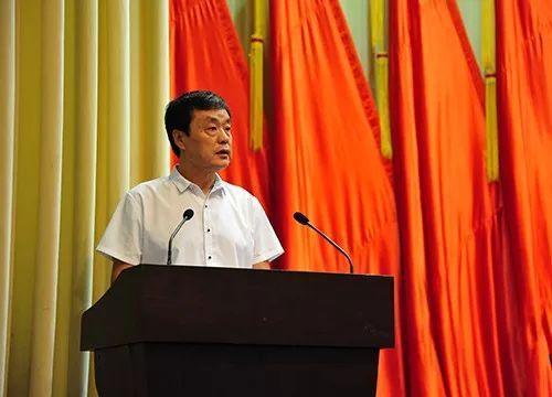 辽宁省残联党组书记、理事长吴玉新出席并讲话