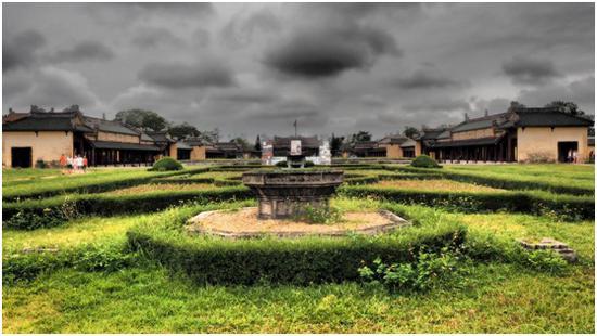越南顺化皇城,坤泰殿。摄影:梅生(中国)