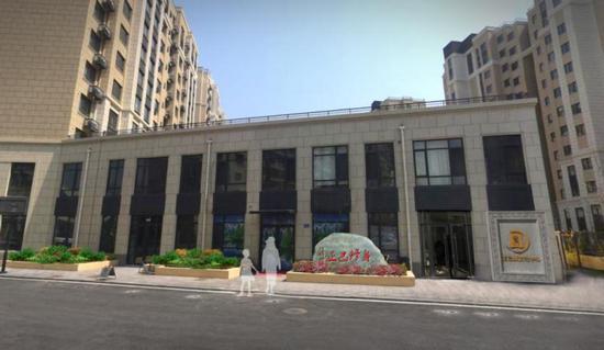 """辛寨子街道开工建设""""正己""""廉文化中心和文化街"""