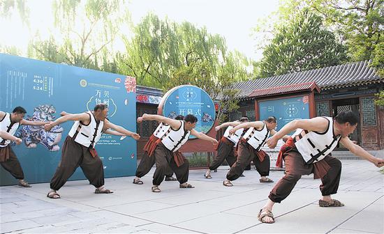 """""""长海号子""""京城舞台惊艳""""开嗓"""""""