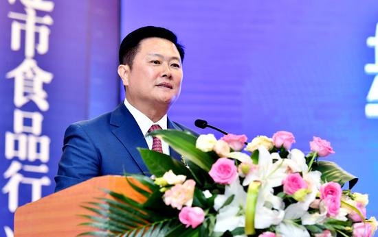 金葵集团董事长丛培刚当选大连市食品行业协会第四届会长并发表任职演讲