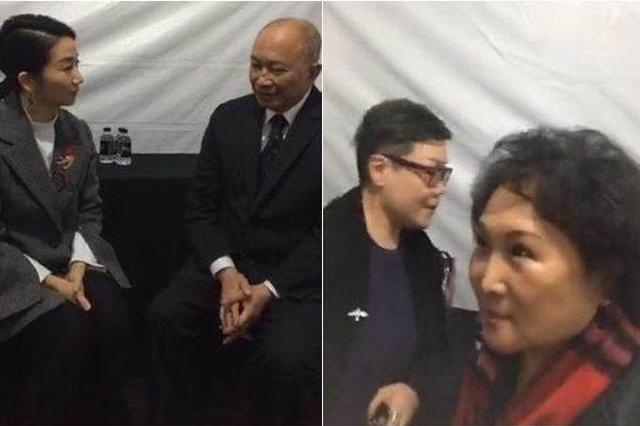"""吴宇森爱妻与陶晶莹打招呼 被对方一句话""""吓""""退"""