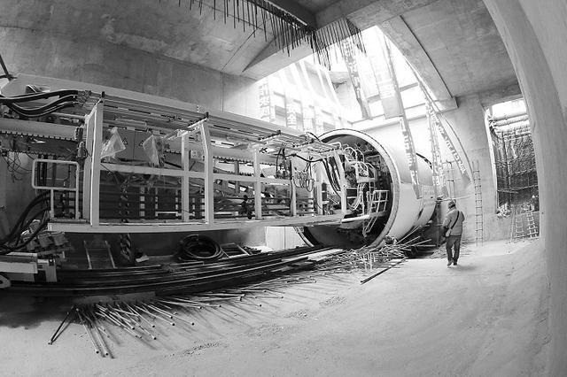 地铁5号线隧道3月正式开挖