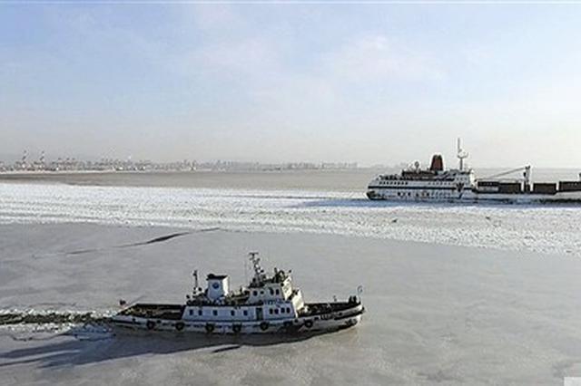 大连部分海域冰情严重
