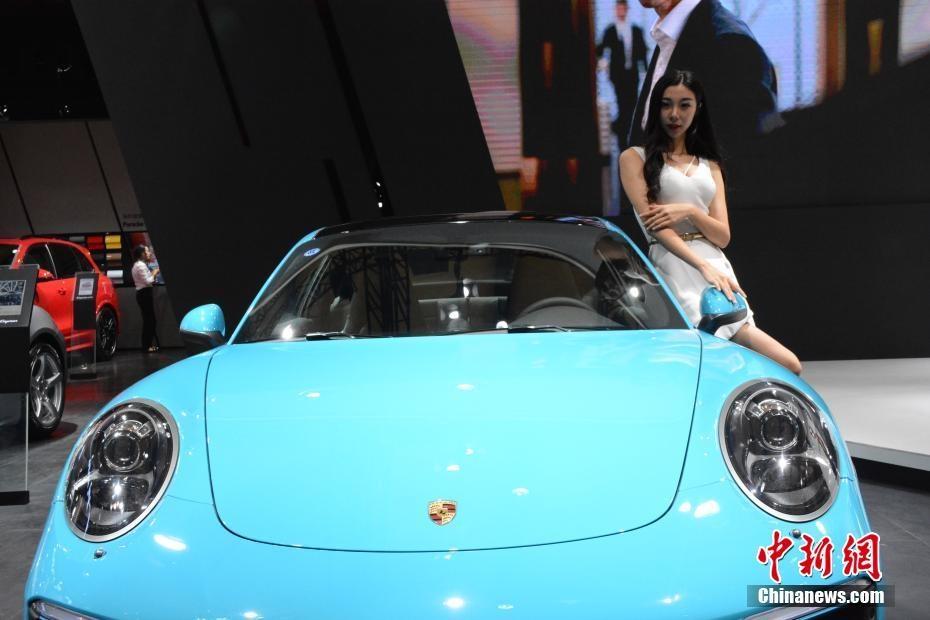 8月16日,2017(第二十二届)大连国际汽车展览会在大连世界博览