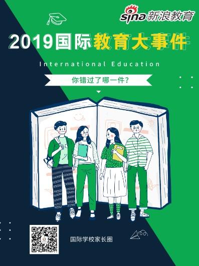 2019十大国际教育新闻事件