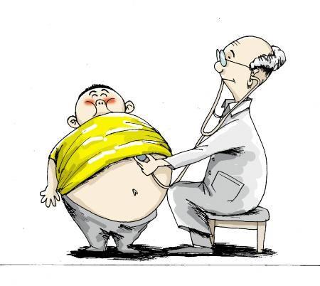 因早产多加营养 5岁男童体重超110斤(图)