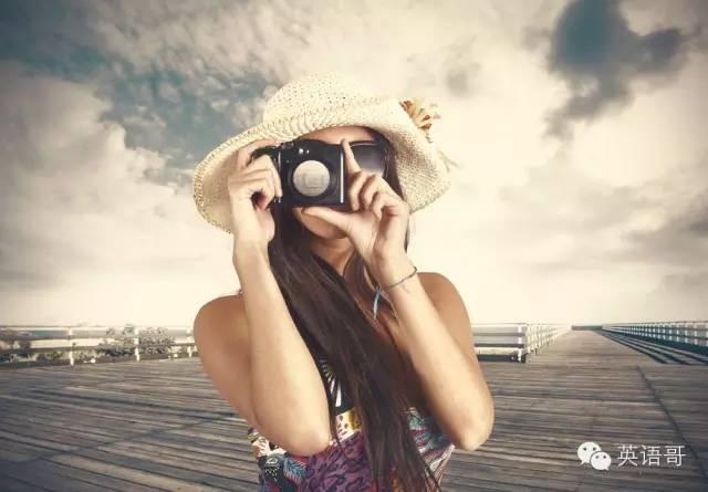 每天拍照 关于拍照的英语你真的知道吗?
