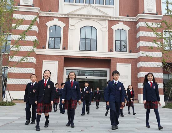 独家探校之走进上海德威国际学校(闵行)