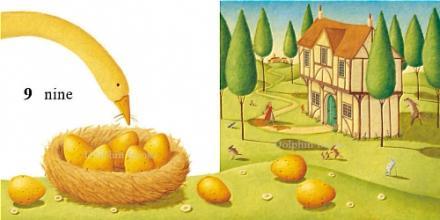 英语经典谚语故事:生金蛋的鹅(图)