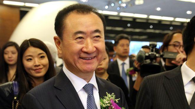 万达董事长王健林