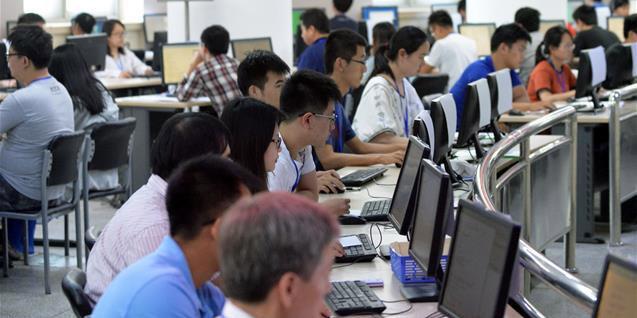 实地探访北京市高考阅卷现场