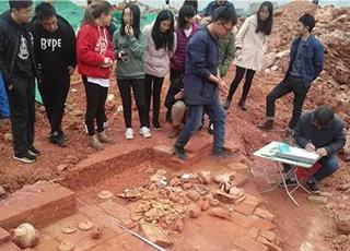 中山大学施工挖出汉古墓