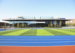 环保跑道及足球场(北京赫德)