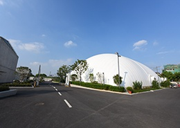 防霾气膜体育馆(上海赫德)