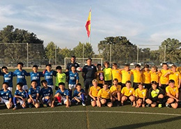 足球校队西班牙集训(宁波赫德)