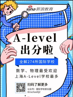 A-Level出分 大数据解析274所国际校