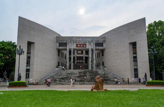 中山大学永芳堂将重新改造变红砖绿瓦