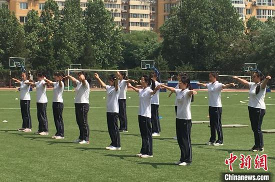 北京体育中考将随堂考 疫情下运动不聚集不激烈