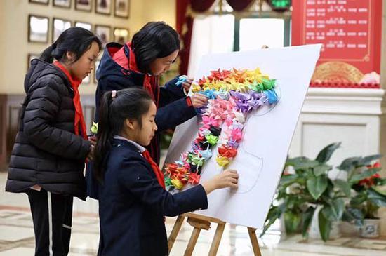 3月14日,宋庆龄学校举行数学节。