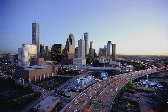 3。 Houston, TX