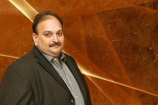 印度珠宝商Mehul Choksi