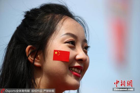 资料图:很多中国球迷不远万里,奔赴俄罗斯。 图片来源:Osports全体育图片社