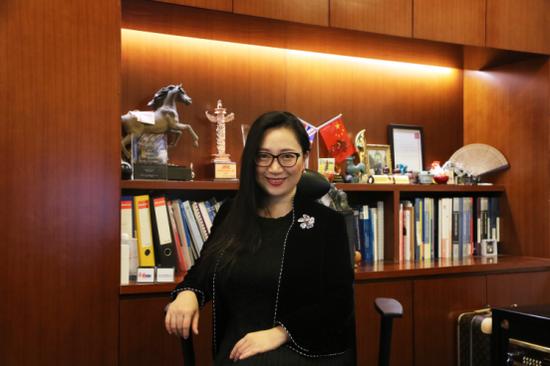 曼彻斯特大学国际教育中国区总裁、商学院中方院长 傅潇霄女士