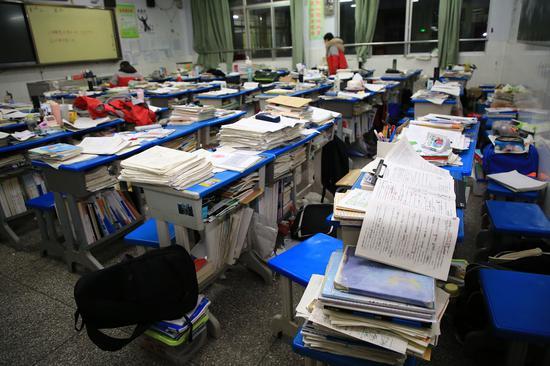 高三教室(图 视觉中国)