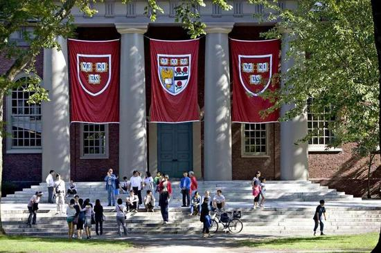 哈佛发布毕业生数据:近半是富二代
