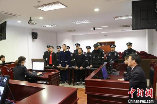 庭审现场。 桐庐法院 供图