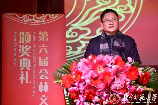 北京师范大学京师特聘教授、中国文化国际传播研究院执行理事向云驹致辞