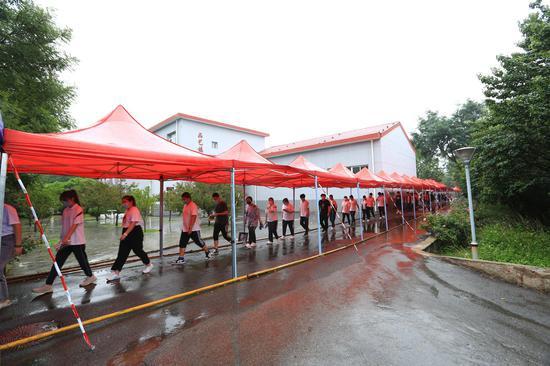 房山建台账 全区3000余高考生未因下雨影响应考