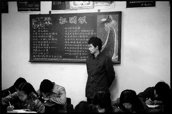 北京第一七一中学教室,1984年1月