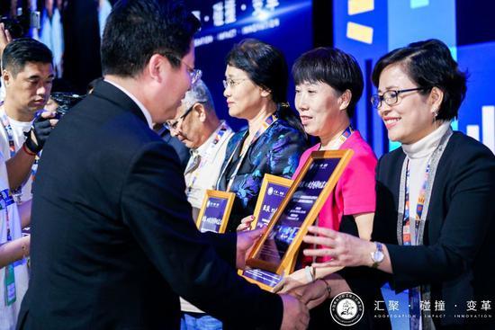 11月20日,教博会最高奖SERVE奖在珠海揭晓,20项成果获得SERVE奖、14项成果获得SERVE提名奖。主办方供图